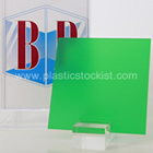 Green Frost Perspex Sheet