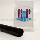 Black 30% Glass Filled Nylon 66 Rod