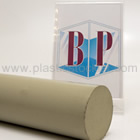 Beige Grey Polypropylene Homopolymer Rod