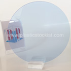 Fluorescent Neptune Blue 7t97 Perspex Acrylic Disc