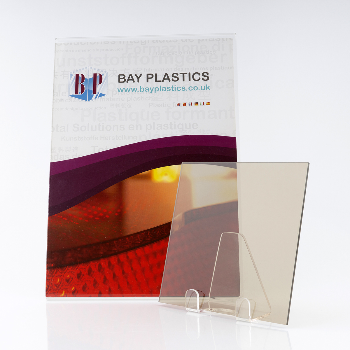 Bronze Polycarbonate Sheet With Uv Protection For Enhanced