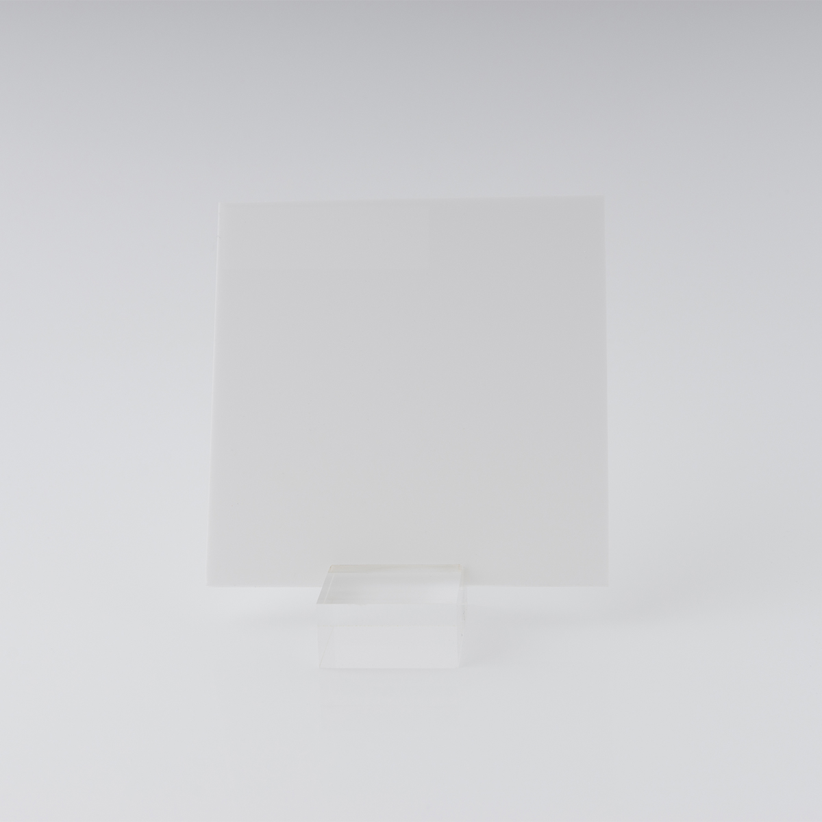 White 069 Perspex Acrylic Sheet With 9% Light Transmission