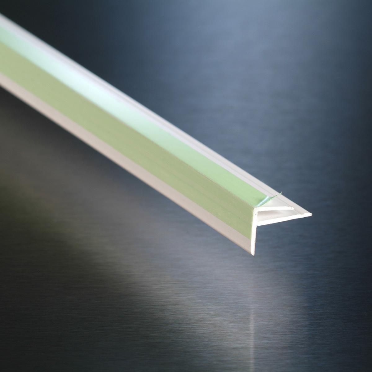 White External Pvc Wall Corner Angle