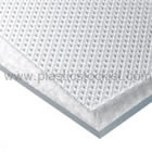 Clear Patterned Polycarbonate Sheet With Uv Protection On Both Sides
