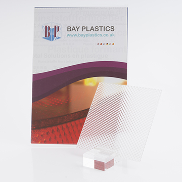 K12 Clear Prismatic Acrylic Light Diffuser