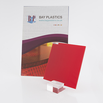 Red 4403 Perspex Acrylic Sheet