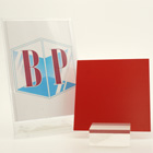 Red Matt Palight Foamed Pvc Sheet